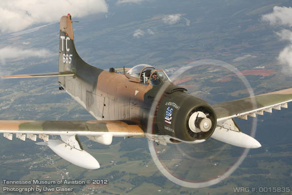 A-1H/AD-6 Skyraider - Bu. 139665