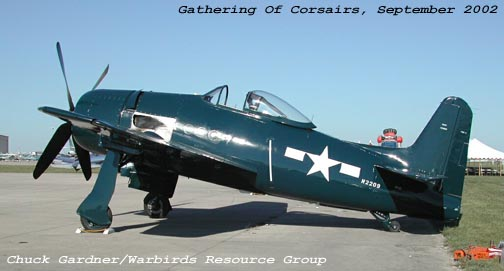 F8F Bearcat Bu. 122095