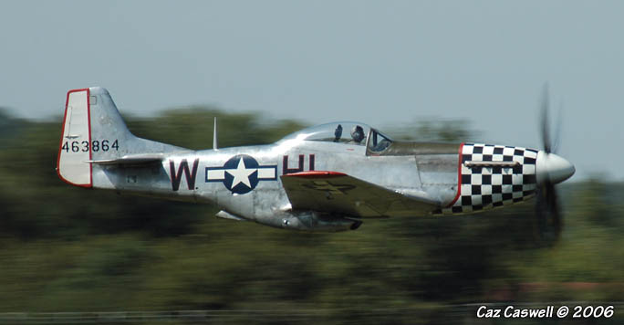 P-51 Mustang - 44-63864 - Twilight Tear